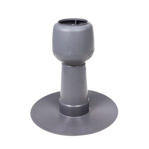 Дефлектор Alpai 110 ПВХ - фланец (темно-серый)