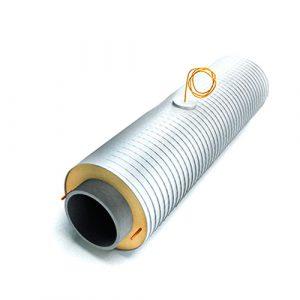 Концевой элемент (бесшовная труба горячедеформированная оцинкованная 426х10/630 ППУ-ОЦ)