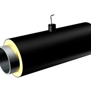 Концевой элемент (бесшовная труба горячедеформированная оцинкованная 426х10/630 ППУ-ПЭ)