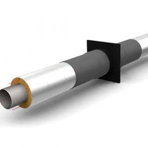 Неподвижная опора (бесшовная труба горячедеформированная оцинкованная 426х10/630 ППУ-ОЦ)