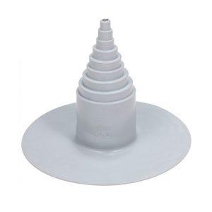 ПВХ уплотнитель для проходных элементов с круглым сечением 12-100 мм светло-серый