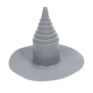 ПВХ уплотнитель для проходных элементов с круглым сечением 12-100 мм темно-серый