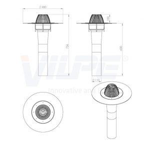 Кольцо+шурупы для воронки AM 160