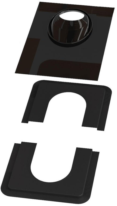 Уплотнитель гидрозатвора NO.2 PIIPPU  черный