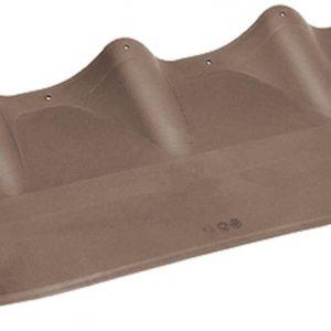 Примыкание для черепицы с профилем Monterrey MUOTOKATE коричневый