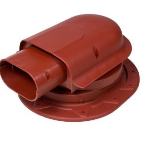 Проходной элемент для фальцевой и мягкой кровли Solar Classic красный