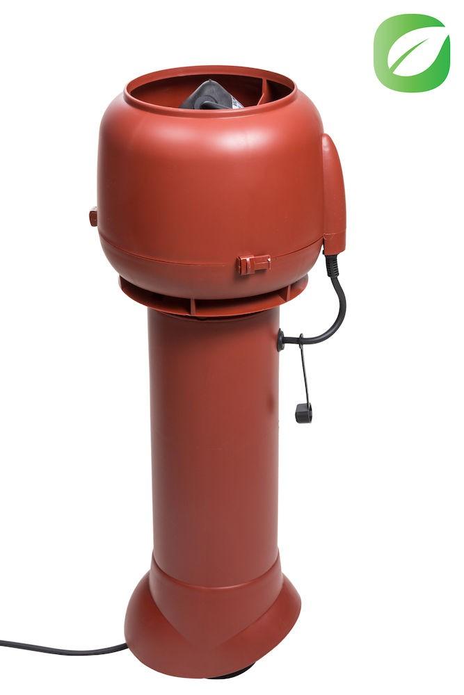 Вентилятор ECo110P/110/700  0 -600 м3/ч для биотуалетов и удаления радона красный