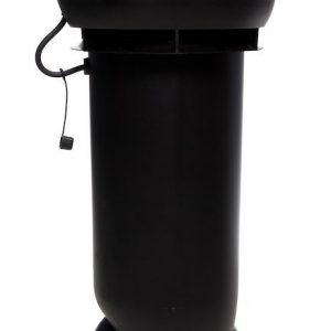 Вентилятор воздуховода E190 Р 0 - 500м3/ч  черный