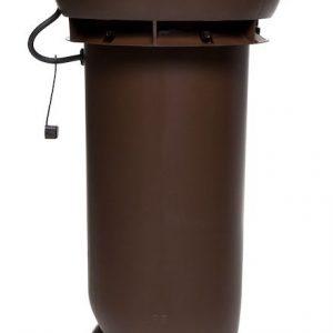 Вентилятор воздуховода E190 Р 0 - 500м3/ч  коричневый