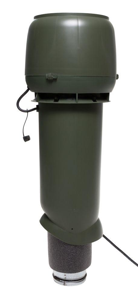 Вентилятор воздуховода E190 Р 0 - 500м3/ч  зеленый