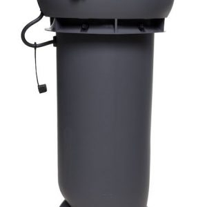 Вентилятор воздуховода E190 Р 0 - 500м3/ч  серый