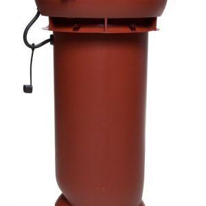 Вентилятор воздуховода E190 Р 0 - 500м3/ч  красный