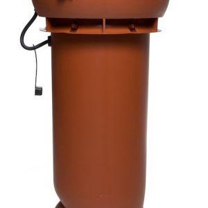 Вентилятор воздуховода E190 Р 0 - 500м3/ч  кирпичный