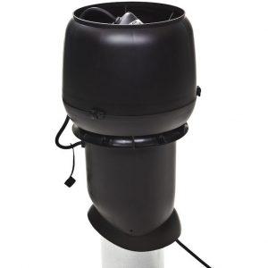 Вентилятор воздуховода E220 Р/ 160 / 500  Р 0 - 800м3/ч  черный