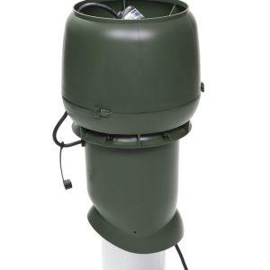 Вентилятор воздуховода E220 Р/ 160 / 500  Р 0 - 800м3/ч  зеленый