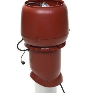 Вентилятор воздуховода E220 Р/ 160 / 500  Р 0 - 800м3/ч  красный