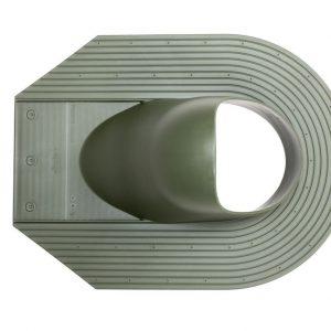 Проходной элемент для мягкой кровли Huopa/Slate зеленый