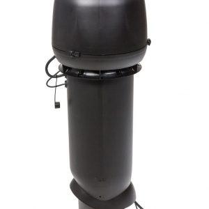 Вентилятор воздуховода E190 Р 0 - 700м3/ч  черный
