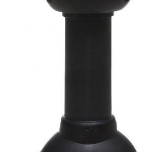 Вытяжка центрального насоса 75/110/500  черный