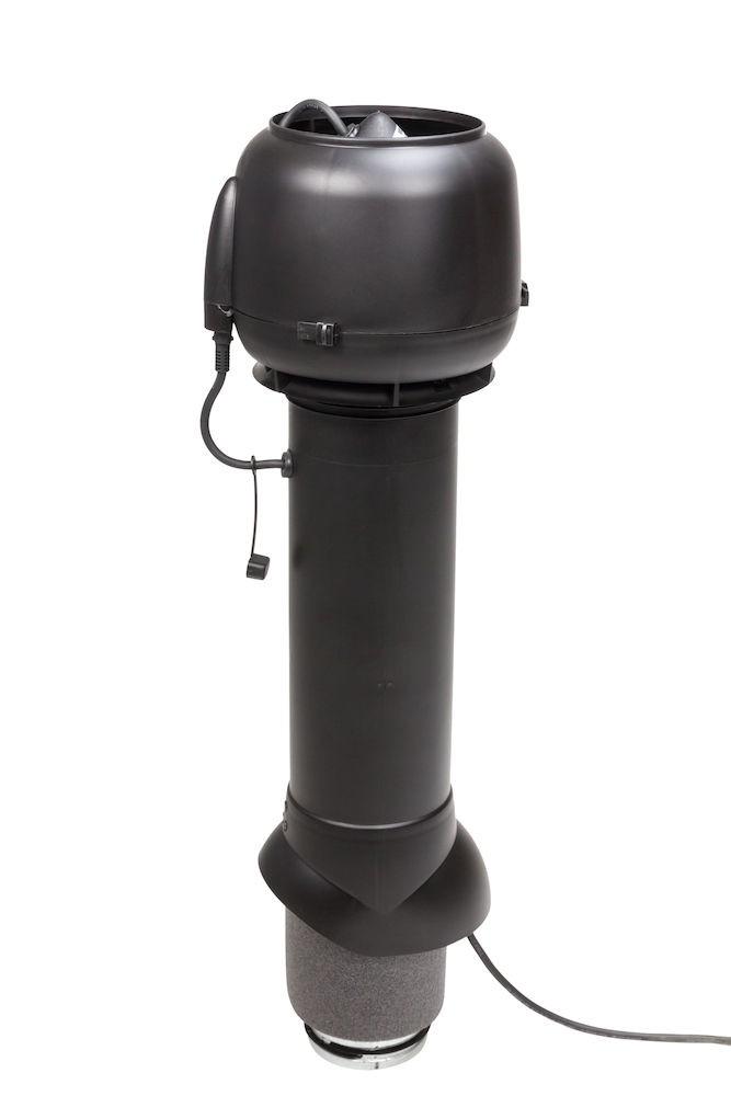 Вентилятор воздуховода E120 Р 0-100м3/ч  черный