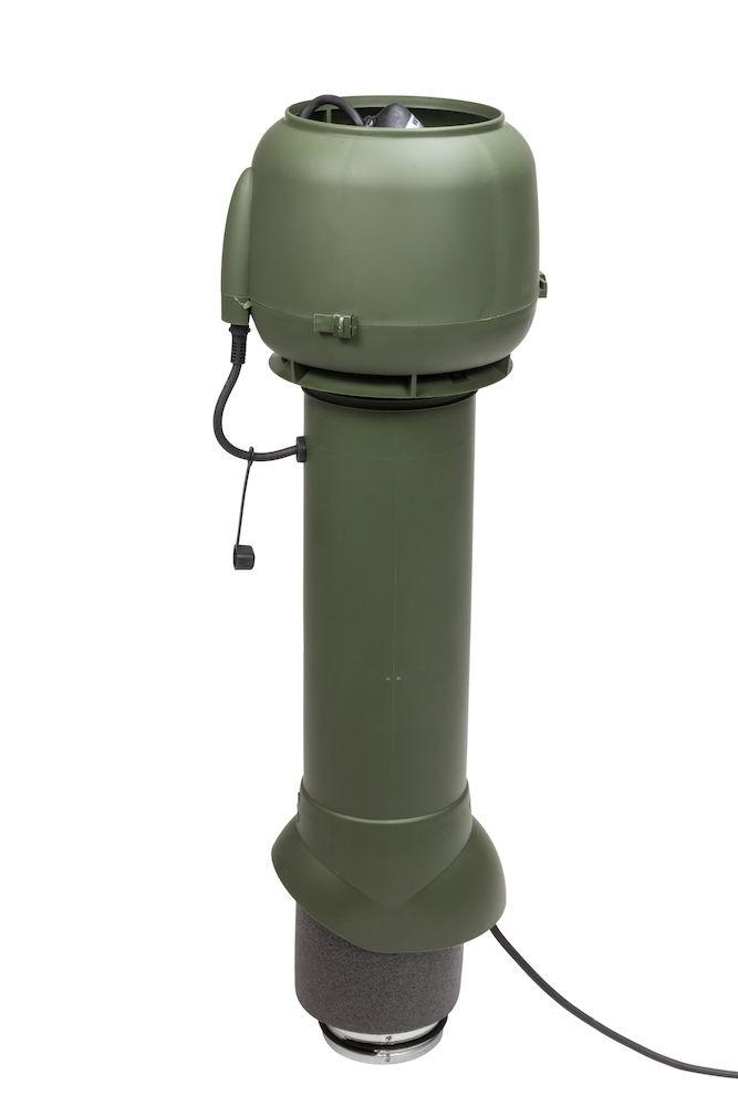 Вентилятор воздуховода E120 Р 0-100м3/ч  зеленый