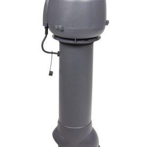 Вентилятор воздуховода E120 Р 0-100м3/ч  серый