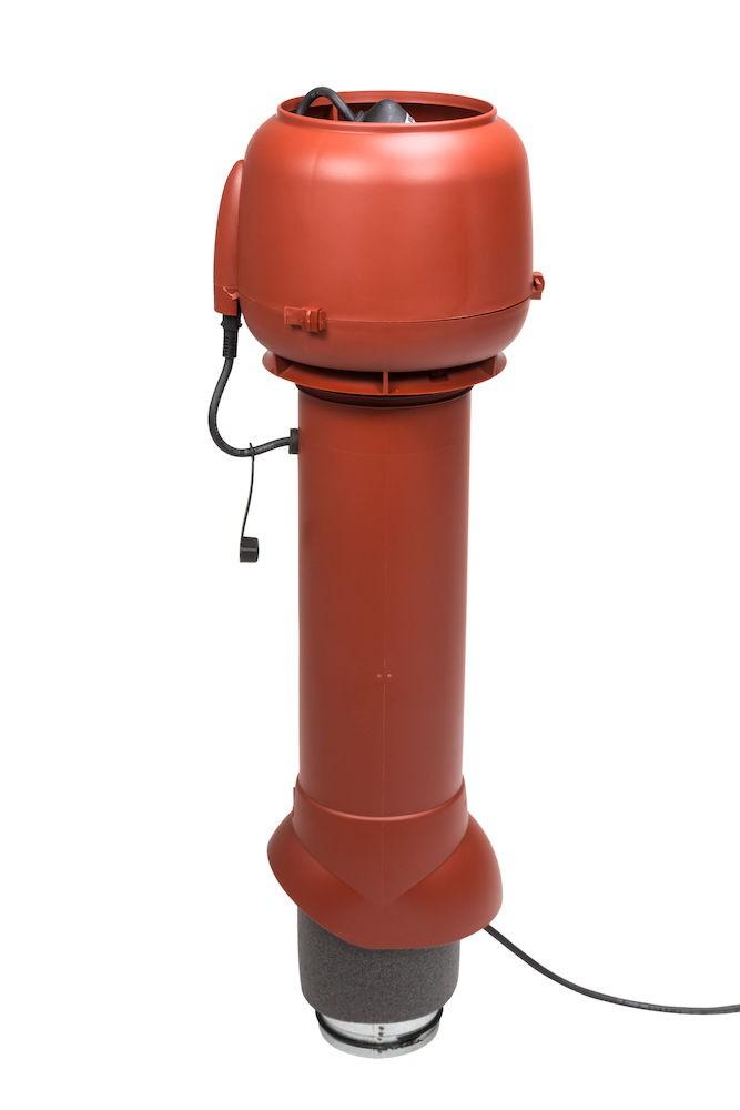Вентилятор воздуховода E120 Р 0-100м3/ч  красный