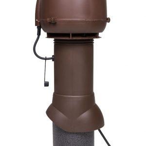 Вентилятор воздуховода E120 Р 0-400м3/ч  коричневый