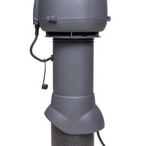 Вентилятор воздуховода E120 Р 0-400м3/ч  серый