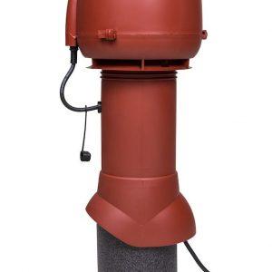 Вентилятор воздуховода E120 Р 0-400м3/ч  красный