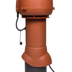 Вентилятор воздуховода E120 Р 0-400м3/ч  кирпичный