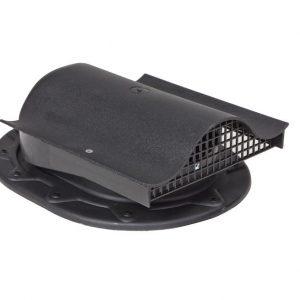 Кровельный вентиль для мягкой и фальцованной кровли Classic - KTV  черный