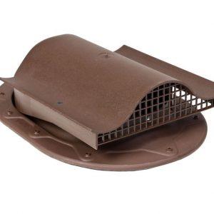 Кровельный вентиль для мягкой и фальцованной кровли Classic - KTV  коричневый