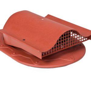 Кровельный вентиль для мягкой и фальцованной кровли Classic - KTV  красный