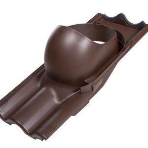 Проходной элемент для труб TILI 160-250 мм коричневый