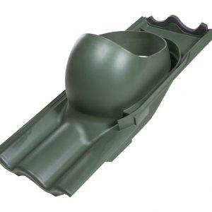 Проходной элемент для труб TILI 160-250 мм зеленый