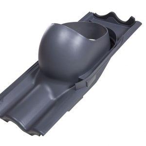 Проходной элемент для труб TILI 160-250 мм серый