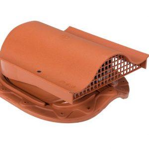 Кровельный вентиль для металлочерепицы Muotakate KTV кирпичный