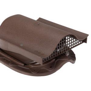 Кровельный вентиль для металлочерепицы Muotakate KTV коричневый