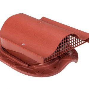 Кровельный вентиль для металлочерепицы Muotakate KTV красный