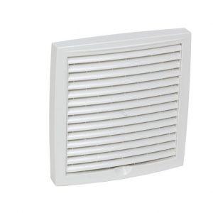 Наружная вентиляционная решетка 150х150 белый