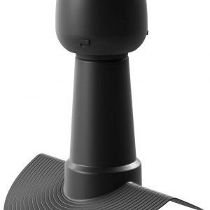 Дефлектор коньковый ALIPAI - 14 110/320 мм черный
