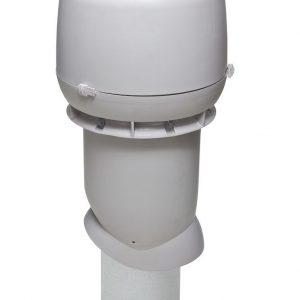 Вентиляционный выход 160/500 мм светло-серый