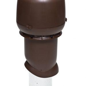 Вентиляционный выход 160/500 мм коричневый