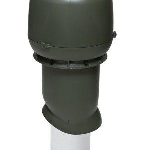 Вентиляционный выход 160/500 мм зеленый
