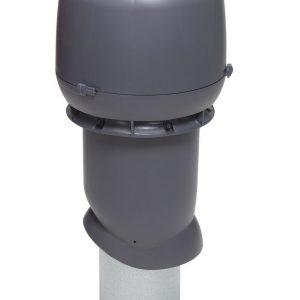 Вентиляционный выход 160/500 мм серый