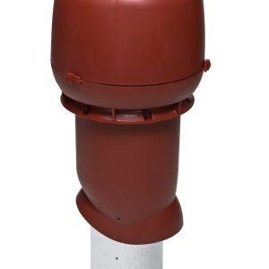Вентиляционный выход 160/500 мм красный