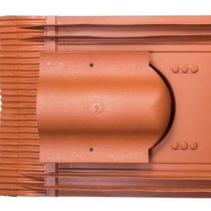 Кровельный вентиль для натуральной черепицы Inicersal - KTV кирпичный