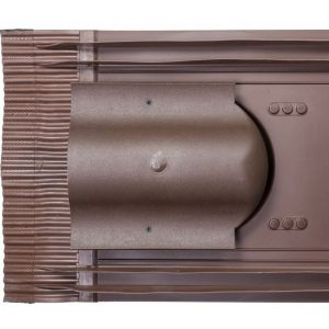 Кровельный вентиль для натуральной черепицы Inicersal - KTV коричневый