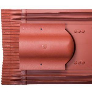 Кровельный вентиль для натуральной черепицы Inicersal - KTV красный